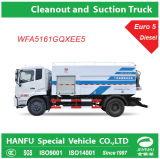 유로 5 Cleanout와 Suction Truck