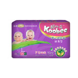 Forte Absorption Baby Diapers (porpora, L)