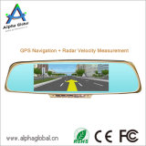 1080P 30fps Auto-Videokamerah. 246 Android des Rearview-Spiegel-HD mit GPS-Navigation