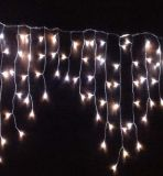 PVC 케이블 LED 고드름 빛 끈 요전같은 빛 반짝임 빛