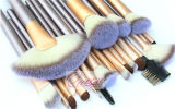 Quality superior 24PCS Copper Ferrule Professional Makeup Brush Set