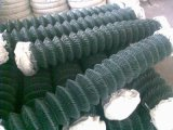 Горячее Sale для звена цепи Fence PVC Coated Wire Mesh