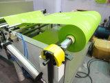 부직포를 구르는 롤 기계를 인쇄하는 1개의 색깔 스크린