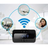 Gravador de vídeo Security Monitor de HD WiFi Hidden Clock Camera 1080P