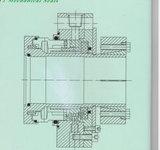단 하나 끝 슬러리 기계적 밀봉 (HT1)