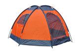 Im Freien faltendes Picknick-kampierendes Strand-Zelt am Sommer