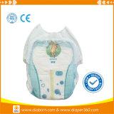 Pantalon superbe mou de couche-culotte de bébé d'absorptivité de butoir de fuite des constructeurs de la Chine