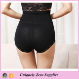 2016 горячее Selling Women High Waist Butt Lift Pant с Lace Hem Underwear