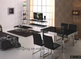 Beste Qualitätsschwarze Esszimmer-Mahagonitabelle A8001