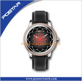 Het eenvoudige Horloge van Dame Quartz All Roestvrij staal van Nice Hete Verkopende