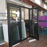Deur K06039 van de Gordijnstof van het Aluminium van de Onderbreking van de goede Kwaliteit de Thermische