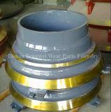 Alte parti di usura del pezzo fuso d'acciaio del manganese per il frantoio