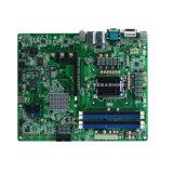 O chipset LGA1155 de Intel B75 Dual LAN, 10 SATA, cartão-matriz industrial de 2COM NVR