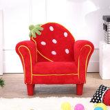 Silla del sofá de los niños del cuarto de niños de la fresa/muebles preescolares de los cabritos (SF-261-S)