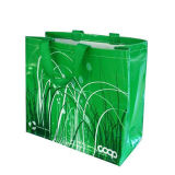 Sacs verts non-tissés respectueux de l'environnement réutilisables (LJ-104)
