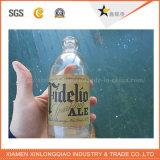 Papier d'emballage a estampé le collant de bouteille de vin de boisson de l'eau de bouteille d'impression d'étiquette