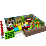 Подгонянная спортивная площадка самого последнего замока детей конструкции капризного крытая для малышей