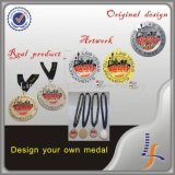 Le medaglie su ordinazione della medaglia di sport del metallo fanno per possedere la medaglia
