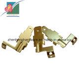 曲がる高精度の真鍮の銅押すOEMサービス(ZH-SP-034)の部分を
