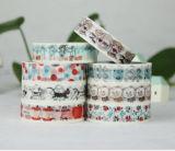 紙テープ顧客パターンによって印刷されるWashi
