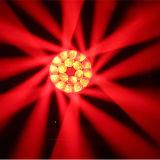 Надувательство фабрики сразу свет диско глаза СИД 19PCS X 15W b Moving головной