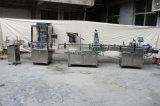 Linha de embalagem máquina de enchimento e tampando do alimentador da máquina de embalagem