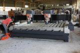 O dobro alonga o gravador de pedra do CNC