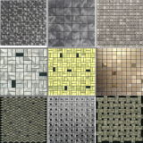 容易なインストール内部の金属壁はアルミニウムCompositのプラスチックモザイクをタイルを張る