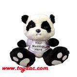 プラシ天のパンダのおもちゃ