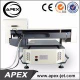 Impressora de Digitas Flatbed para o plástico/madeira/vidro/acrílico/metal/impressão cerâmica/de couro