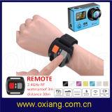 """controlador impermeável do grau 30m Camcorder+Remote do esporte DV 1080P 2.0 """" LCD 170 da câmera da ação de 12m 4k WiFi"""
