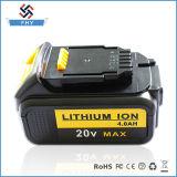 Bewegliche Dcb180 Dewalt 4.0ahah-20V Li-Ionenergien-Hilfsmittel-Batterie