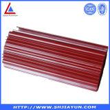 Kundenspezifischer tiefer aufbereitender Puder-überzogener Aluminiumrohrai-Kühlkörper