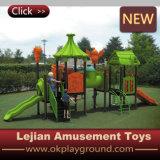 Parque de atracciones plástico del equipo del patio del niño del Ce (X1504-1)