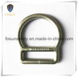 """Anelli a """"D"""" del metallo degli accessori del cavo di sicurezza (H214D)"""