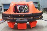 Solas en ISO Standard 25 Person kraanbalk-Launched Inflatable Liferaft met CCS Certificate
