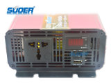 Suoer Solar Power Inverter 1000W Digital Display Power Inverter 12V a 220V Modificado Sine Wave Power Inverter para Uso Doméstico com CE & RoHS (HAA-1000A)