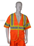 Sale caldo Reflective Safety Clothing Vest con CE Certificate