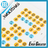 ElectricまたはAcoustic Guitar StickerのためのFretboard Note Map Decals
