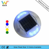 Runder straßen-Plastikstift der Form-3m Solardes reflektor-LED