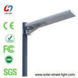 indicatore luminoso solare Integrated di alluminio del giardino della via di 18W LED
