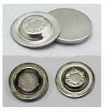 Rundes magnetisches Namensabzeichen mit Nickel-Metalldeckel