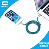 Кабель USB кабеля заряжателя Braided на iPhone 5