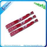 Gewebe-PolyesterWristband des Festival-kundenspezifischer RFID für Ereignis