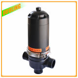Filtro de placa automático do disco do purificador da água de limpeza do auto da água do remoinho do filtro do mícron do sistema de irrigação do gotejamento