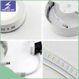 indicatore luminoso di comitato montato superficie quadrata rotonda del soffitto del chip LED di 12W 18W 24W Epistar