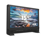 "15.6 "" 4k 3840*2160 Sendungs-Direktor Monitor mit 3G-Sdi, HDMI, DVI"