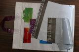 Saco de plástico poli bem parecido personalizado LDPE do espaço livre da forma do encarregado do envio da correspondência da cor