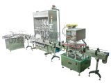Automatic superiore Liquid Bottle Filling Machine con Capping Labeling