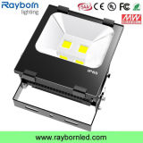 Preço por atacado High Lumen 100W Bridgelux COB Outdoor LED Floodlight